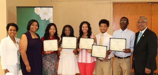 2017 Recipients of HBCU Initiative Scholarships