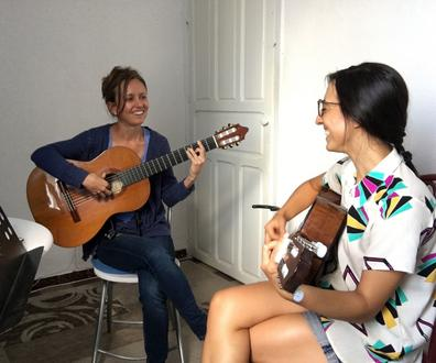 intensive flamenco guitar lessons in the center of Seville