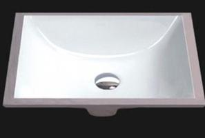 Solaris 3191 Porcelain Undermount Rectangle Sink