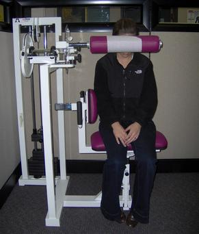 AGLA Chiropractic ProMaxima™ neck weights machine