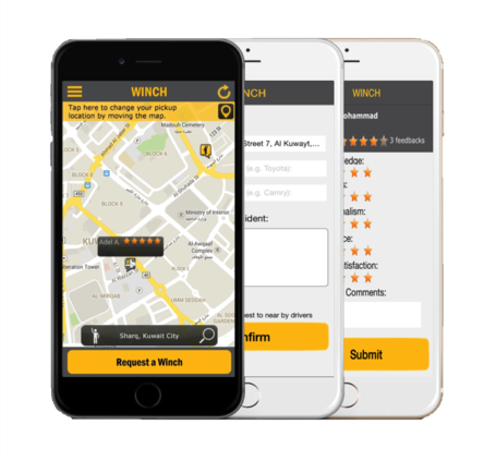 Mobile App to help you on the spot in Kuwait