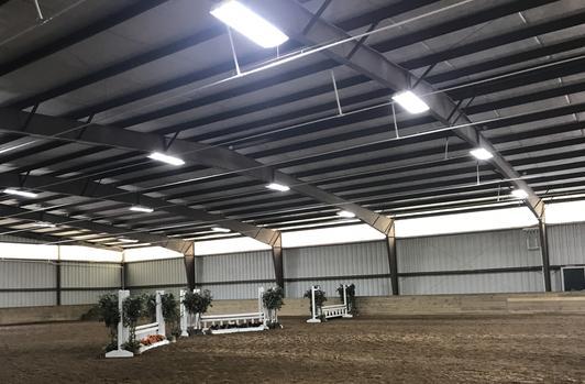 Equestrian Lighting, Barn Lighting, ArenaBright, BarnBright