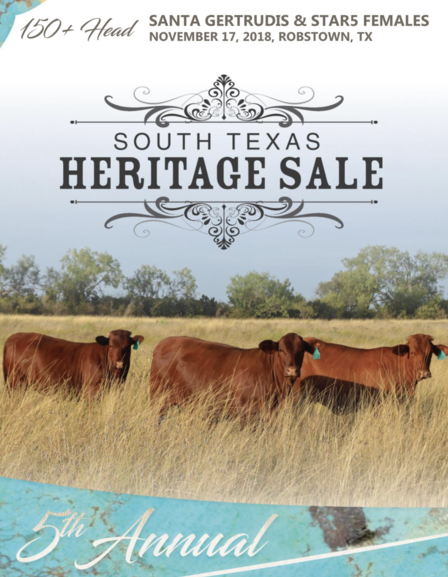 2018 South Texas Heritage Sale Catalog