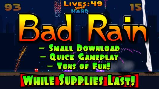 FREE][Android] - BAD RAIN now on Google Play! - Subset Games
