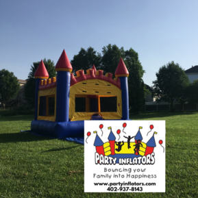 Party Inflators Basketball Castle