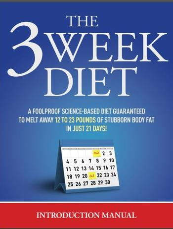 3 Week Diet Insteuction Manual