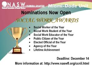 Annual Award Nominations Open
