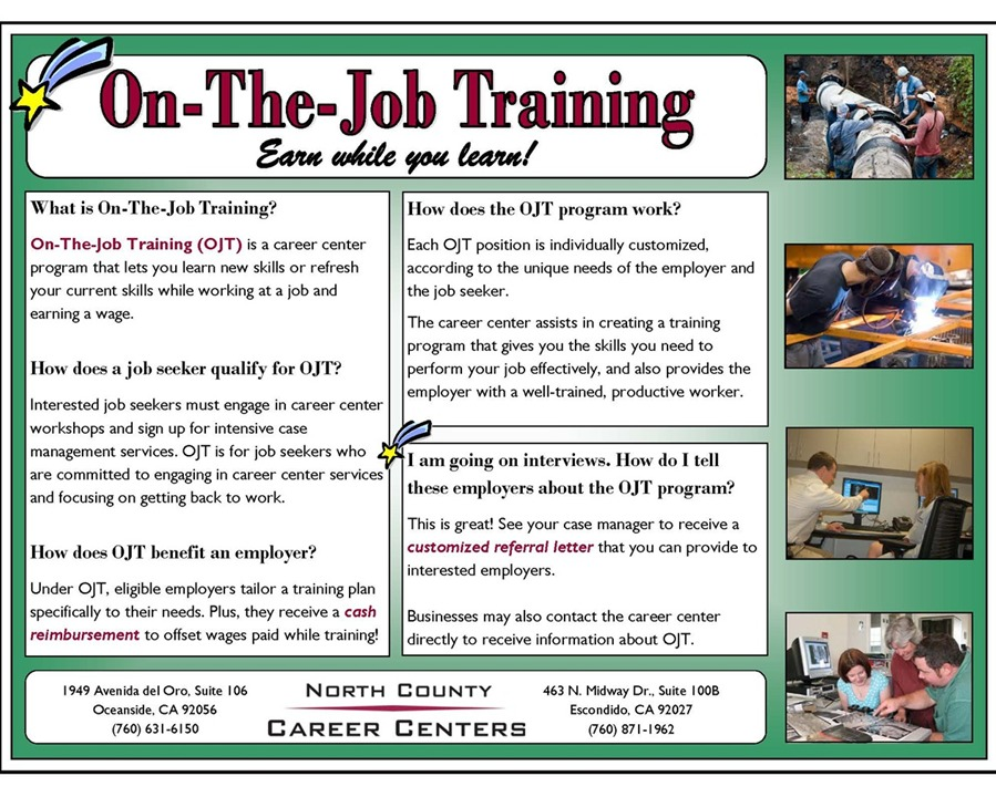 ojt plan The term on-the-job training means training by an employer that is provided to a paid trainee while engaged in productive work this training will.