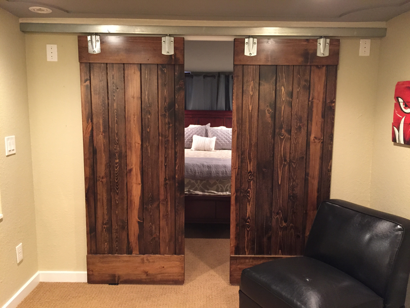 Bedroom Barn Doors Pictures G3allery