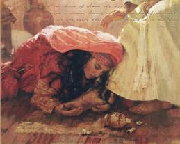 Essential Oils used on feet in Ancient Scriptures