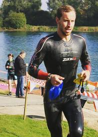 How win European Age Group Triathlon Gold Medal