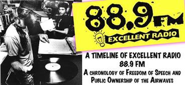 link to the History of Excellent Radio page