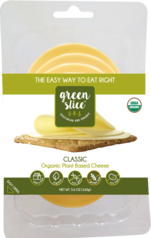 Green Slice organic vegan cheese