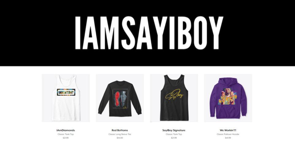 IAMSAYIBOY PRODUCTS