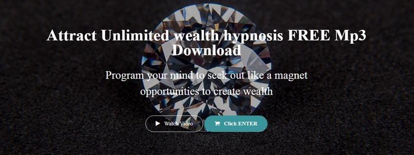 Attract Unlimited Wealth Hypnosis