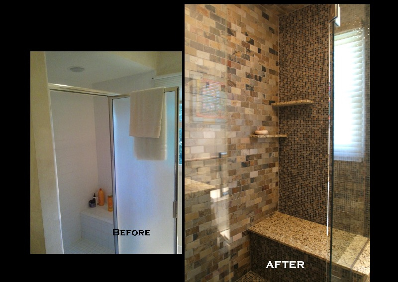 Full Bathroom Remodeling. Remodeled Bathrooms Before And After. Home Design Ideas