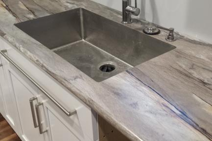 Laminate Countertop with Undermount Bowl
