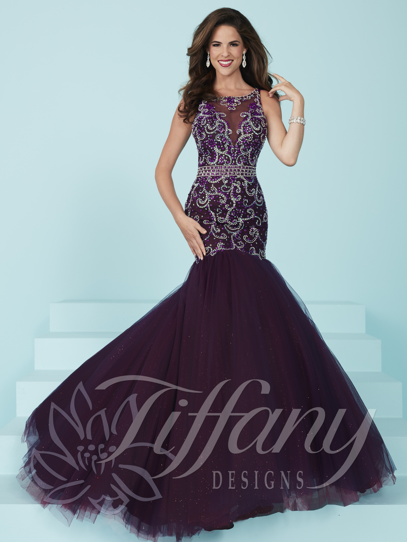 Modern dress des moines - Dresses Created By The Tiffany Designs Label Feature Various Silhouettes From An Exquisite Mermaid Elegant Ball Gown To A