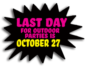 Last Day for outdoor parties burst