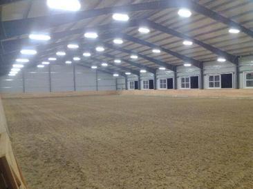 Equestrian Lighting Barn Lighting Arenabright