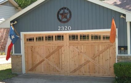 Solid Wood Garage Doors Custom Made Wood Garage Doors