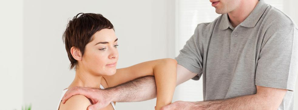 Chiropractic care, massage therapy, physiotherapy