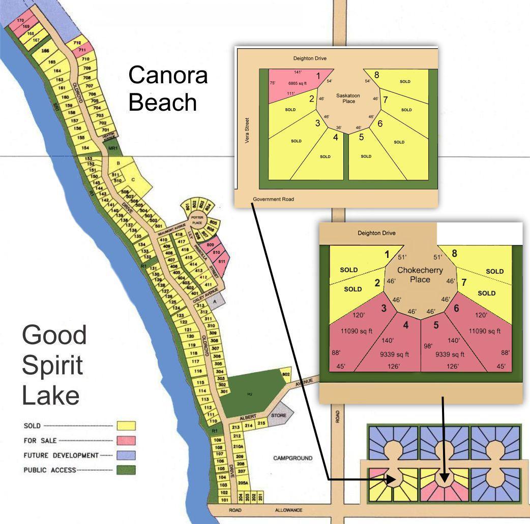 Canora Beach: RV Lots