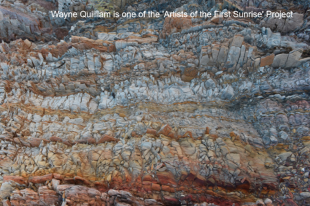 Wayne Quilliam is one the Aboriginal Artists on the Artists of the First Sunrise Project