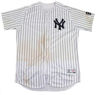 245cc798e1e The uniform jersey worn by Aaron Judge in the Yankee rookie s debut game