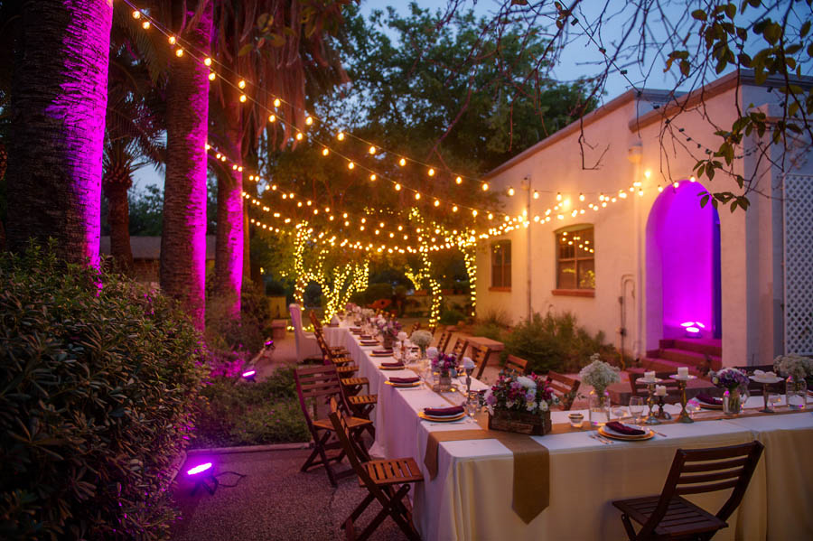 Outdoor wedding venues kingan gardens tucson az junglespirit