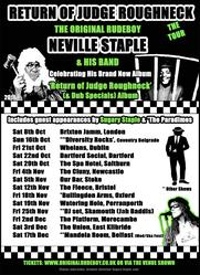 <<<< Christine Sugary Staple joins Original Rudeboy Neville Staple (ex-The specials) on the Return Of Judge Roughneck Tour - Autumn 2016. For tickets: www.originalrudeboy.co.uk