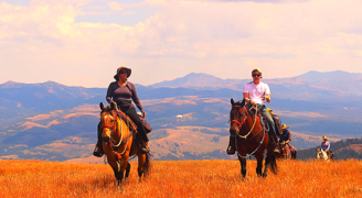 Yellowstone Horseback Riding, Yellowstone National Park, day rides, pack trips, horses