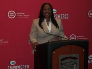 Motivational Youth Speaker and Career Coach, Natascha Saunders National Urban League