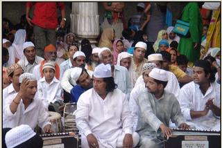 Photo of Qawwali - Sama party at the Ajmer Sharif Dargah of Khwaja Moinuddin Chishty (R.A)