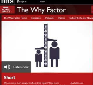 BBC Interview about heightism SupportForTheShort
