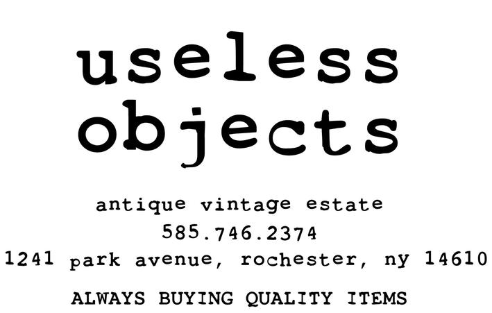 Useless Objects Rochester New York Antique And Vintage Store