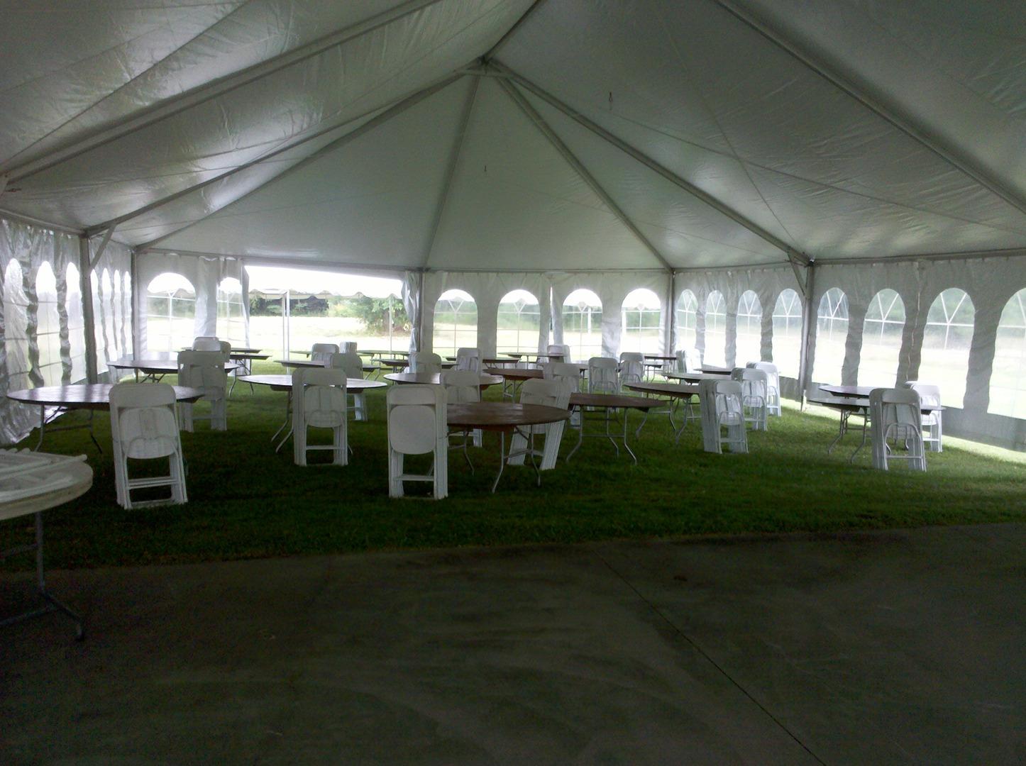 Party Rentals, tent rental, chair rental, wedding tent