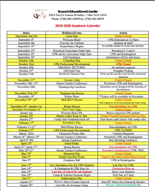 January 19th 2020 Events New York.Calendar