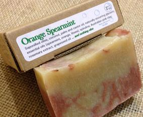 Orange Spearmint Soap