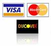 Picture of Credit cards Visa, Mastercard, Discover