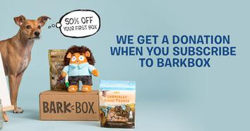 Buy a barkbox, donate to AAP!