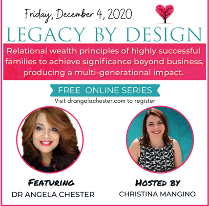Legacy by Design (Successful Families) featuring Dr. Angela Butts Chester