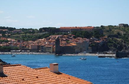 Collioure Beach View from Apartment