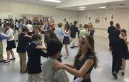 Girls and Boys attending Ballroom and Etiquette Courses.