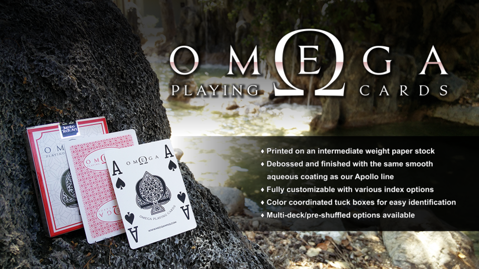 MSC Gaming's Omega Playing Cards