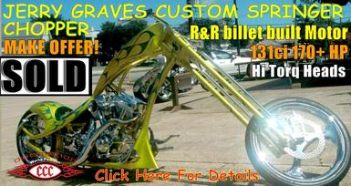 Virginia Beach, Custom Chopper