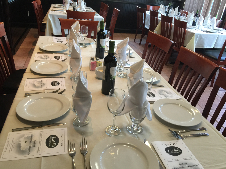 Fratellis Italian Restaurant Of Burlington Catering