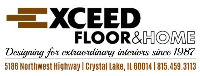 Exceed Floor and Home Logo