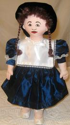 Lucillin play doll all cloth