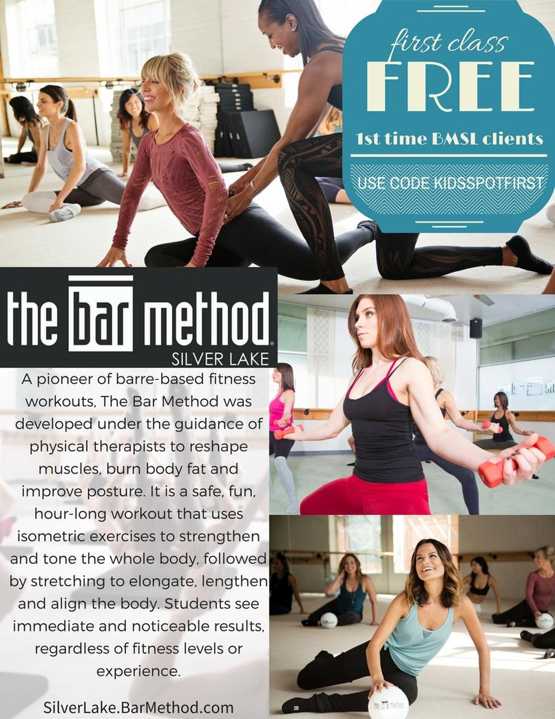 sign up for Bar Method